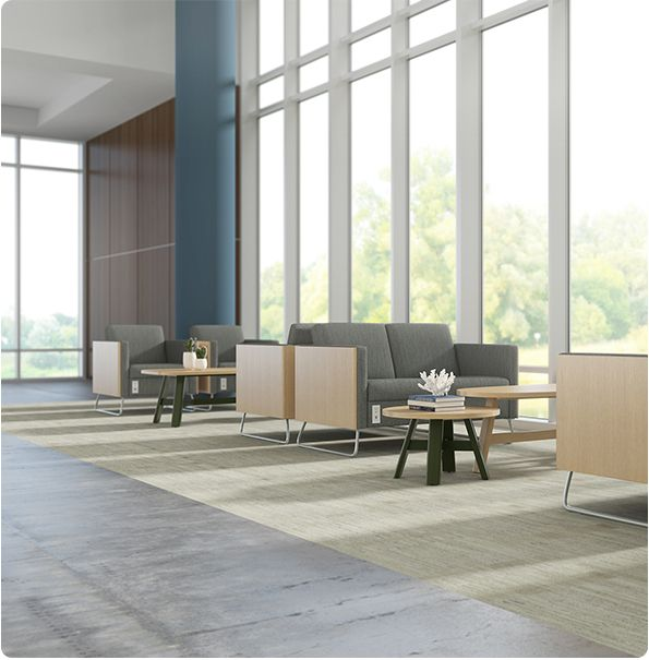Carolina Business Furniture Y60.G2 Sofas With Power Outlet