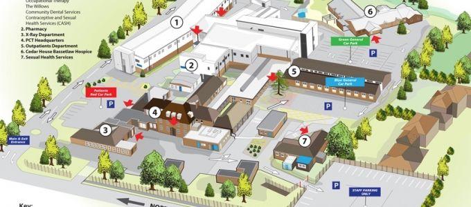 Health sector 3d site plan location maps plans 3d for 3d site plan