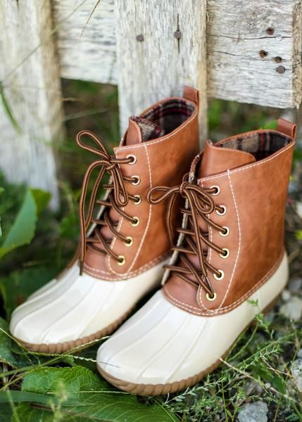 d20821e9fcb Cream Duck Boots, $35.99, Free Shipping, fall, fall boots, fall ...