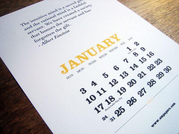 calendar Calendar Pinterest Calendar design, Design
