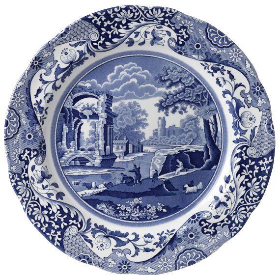 Spode Blue Italian Dinner Plate at EuropeanTableware  sc 1 st  Pinterest & Spode Blue Italian Dinner Plate at EuropeanTableware | Decor ...