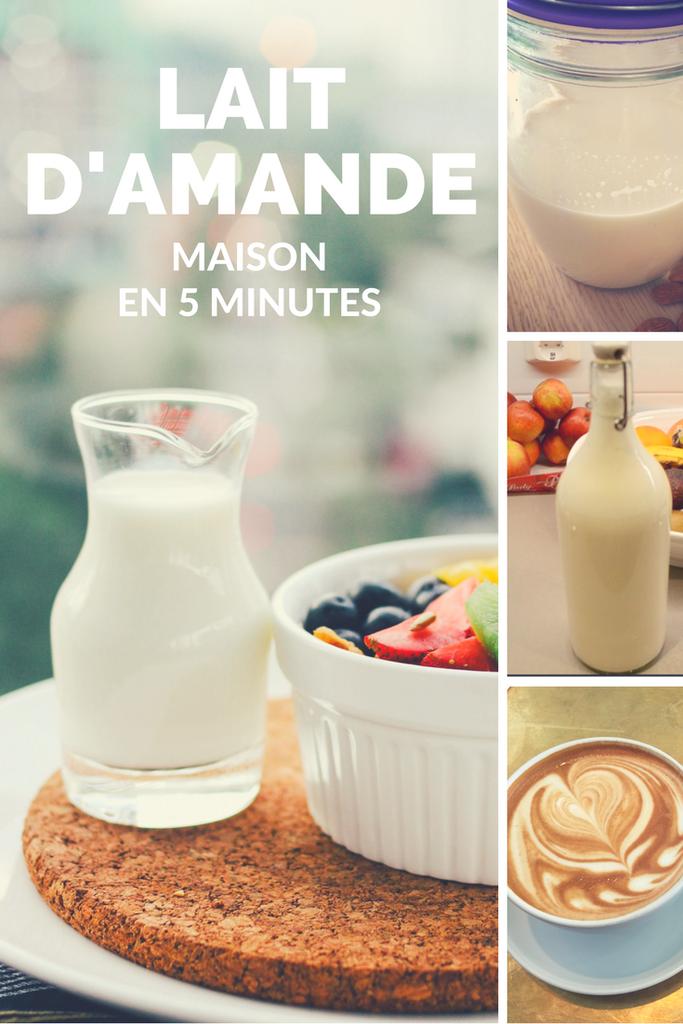 d fi vegan comment faire du lait d 39 amande en 5 minutes cuisine v g tarienne et v g talienne. Black Bedroom Furniture Sets. Home Design Ideas
