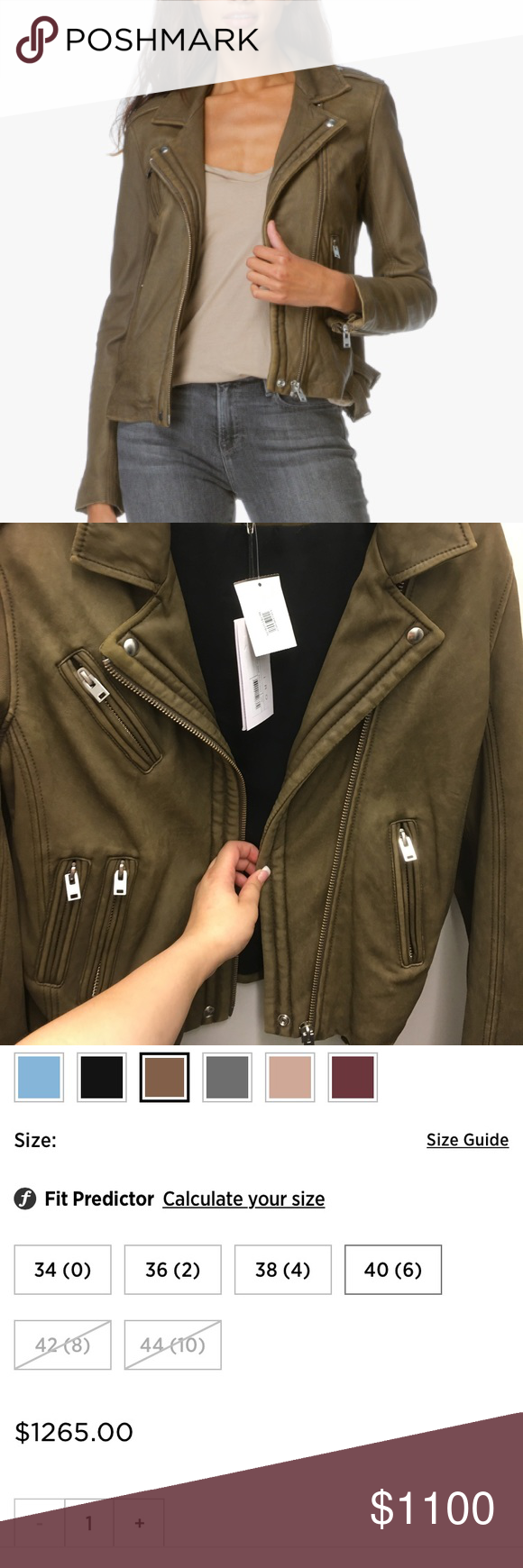 Iro Han Leather Jacket Perfect Nwt Nwt Leather Jacket Jackets Clothes Design [ 1740 x 580 Pixel ]