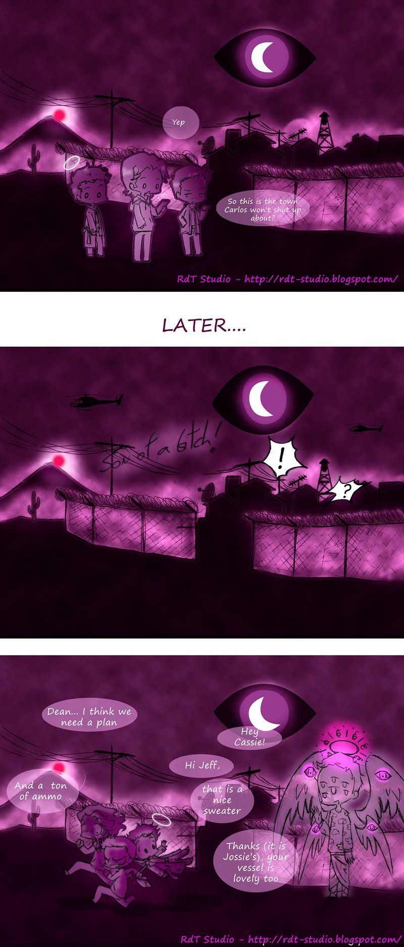 Welcome To Super Night Vale By Heroesdaughter Deviantart