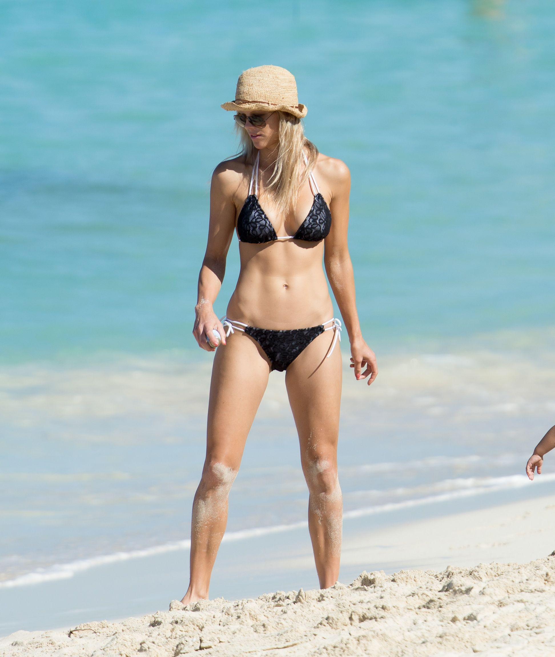 Designer of elin nordegren white bikini photo 367