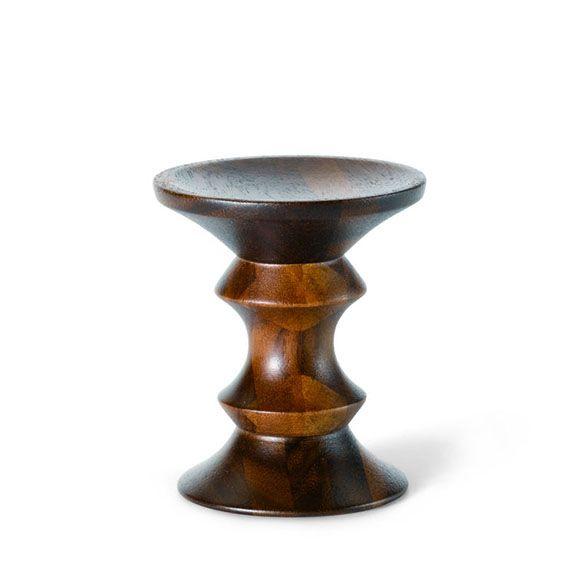 #eames solid walnut stool model c by @vitra