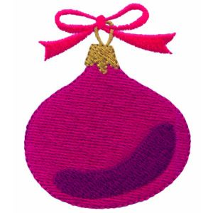 This free embroidery design from Ann the Gran is a Christmas ornament. Super cute!
