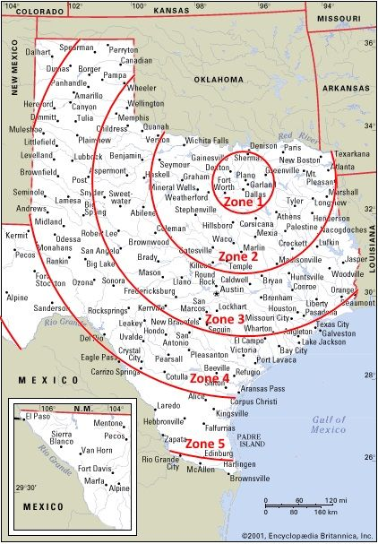Texas Delivery Zones For Our Dallas Tx Tornado Alley