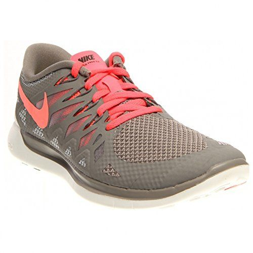 awesome Nike Women's Free 5 0 Lght Ash/Hypr Pnch/Wlf Gry/Smm Running