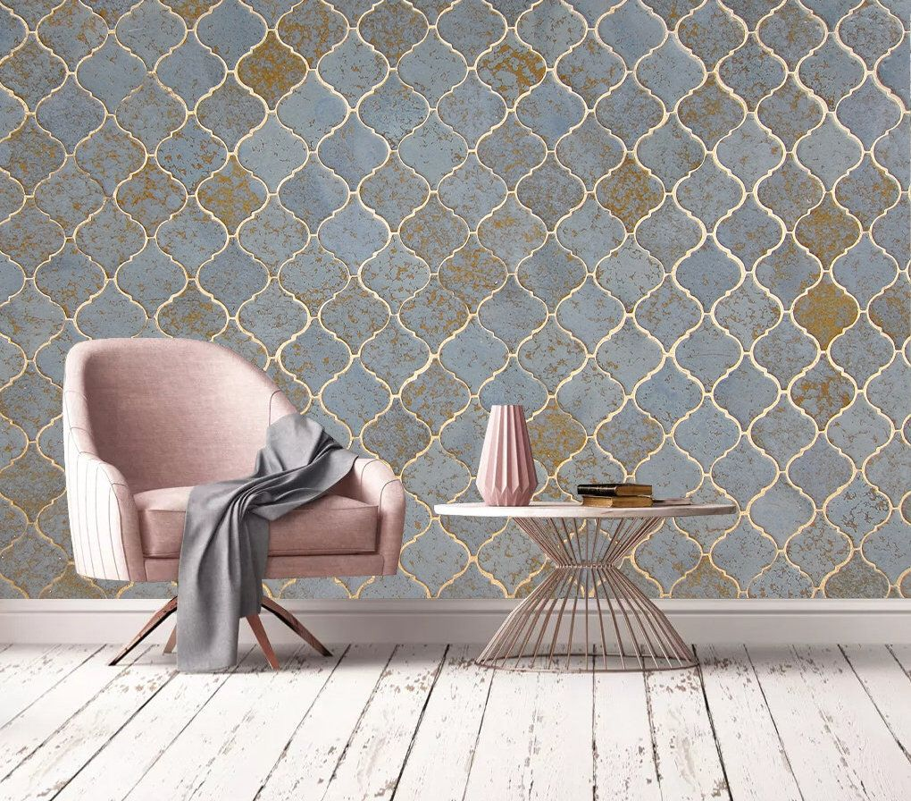 Seamless Ceramic Tiles,Removable Wallpaper, Home Decor ...