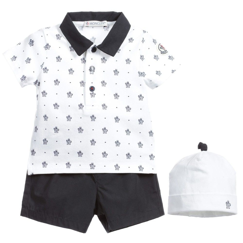moncler shorts and shirt