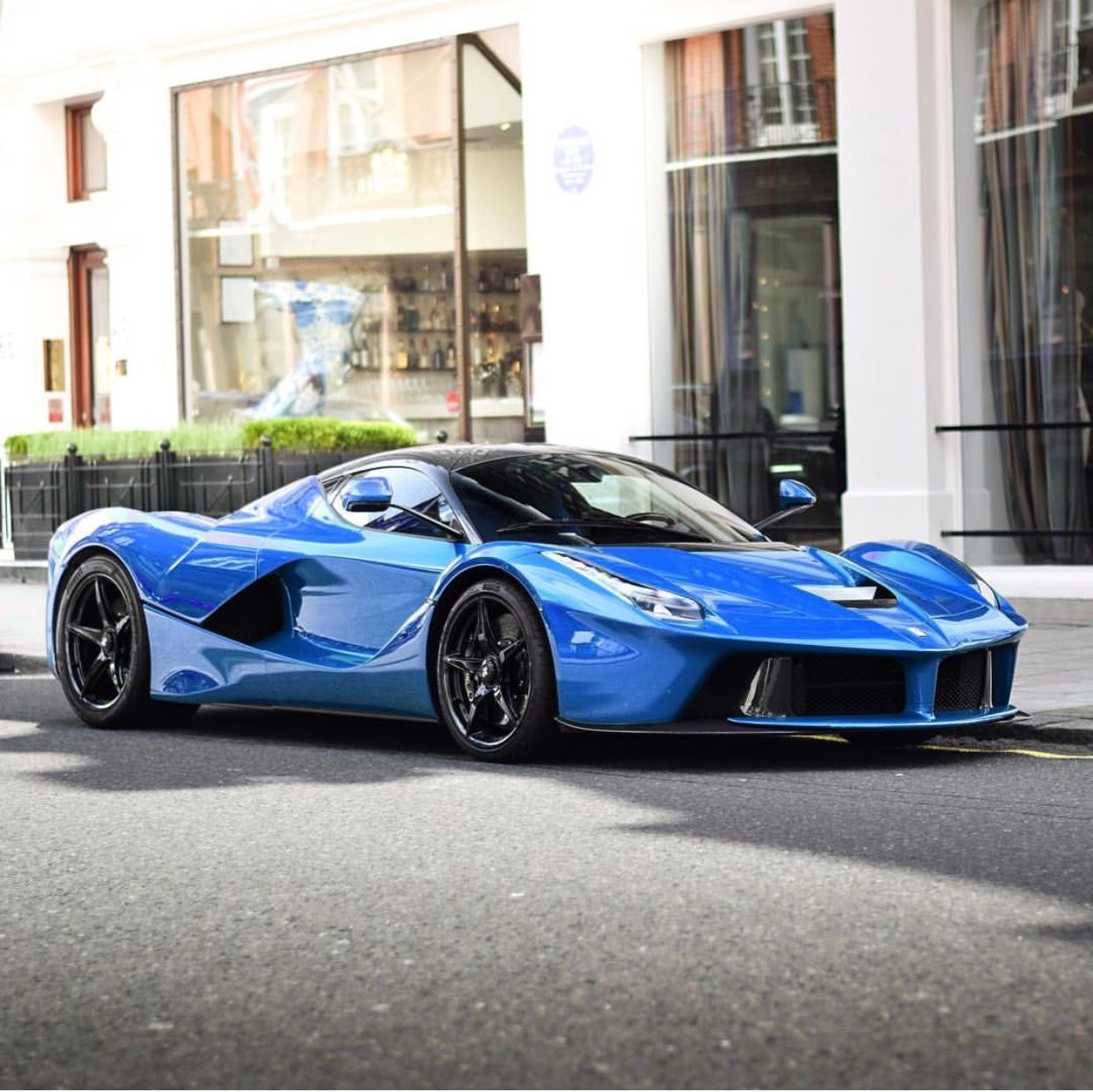 Laferrari: Ferrari LaFerrari Painted In Blue Photo Taken By: @dtab3