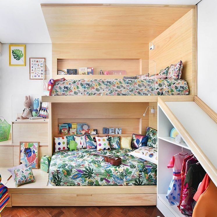 Totally Kids Totally Bedrooms: Shared Bedroom Goals Designed By @uebaa_design 🙌🏼 Totally