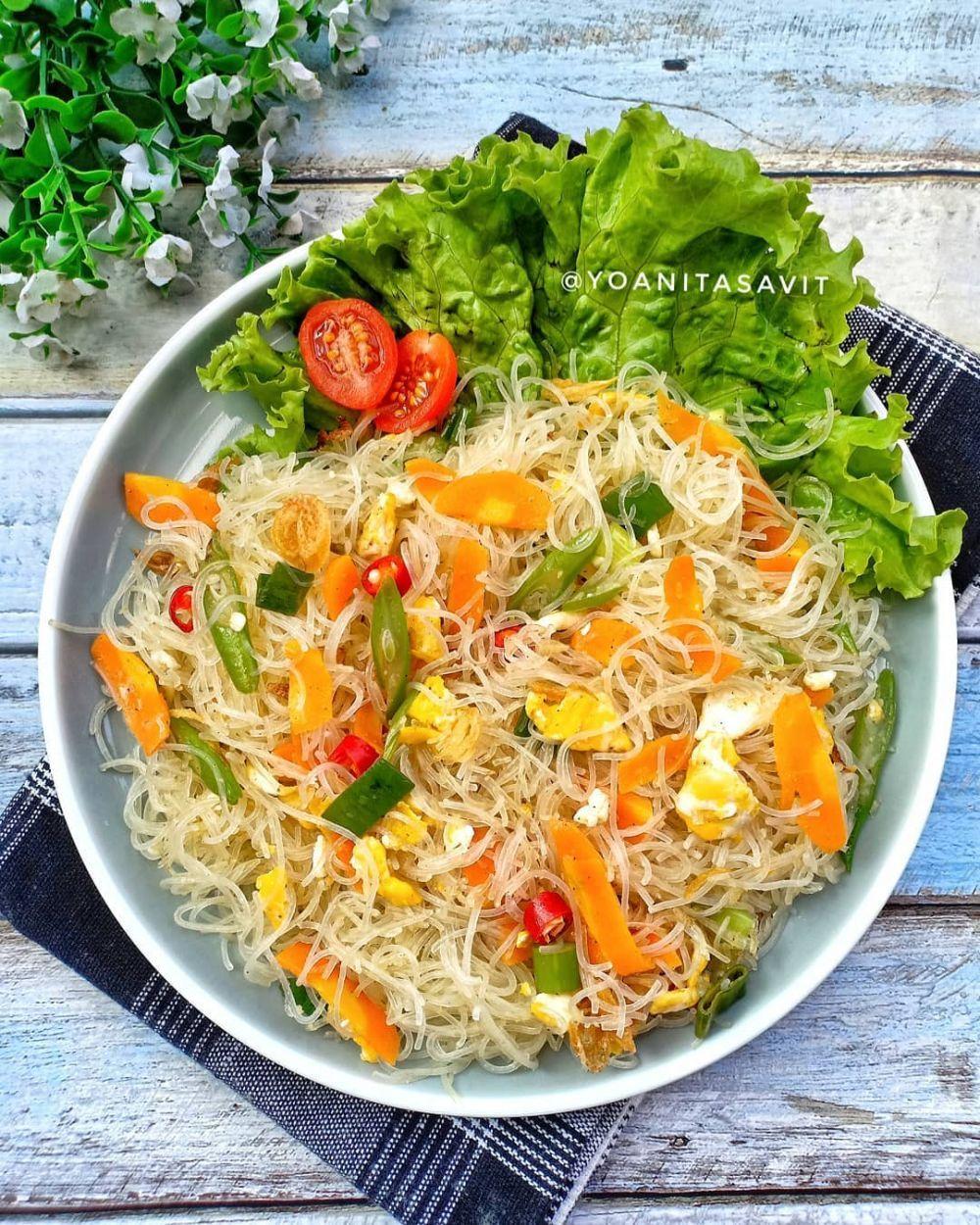Resep Bihun Goreng C 2020 Brilio Net Instagram Yoanitasavit Instagram Purtirenkganis Resep Masakan Masakan Resep