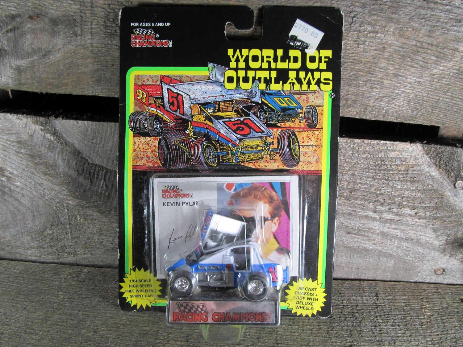 Kevin Pylant 14p World of Outlaws Racing Champions 1//64 Diecast Sprint Car for sale online