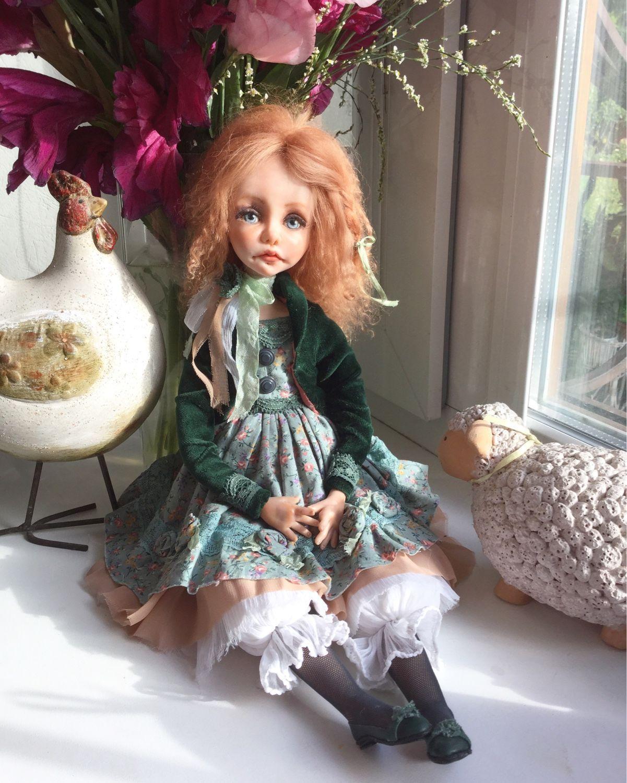 Куклы из полимерной глины картинки