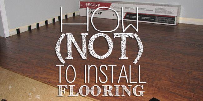 How not to install laminate flooring pergo laminateflooring diy how not to install laminate flooring pergo laminateflooring diy solutioingenieria Images