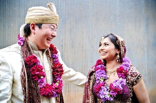 Korean Groom And Indian Bride