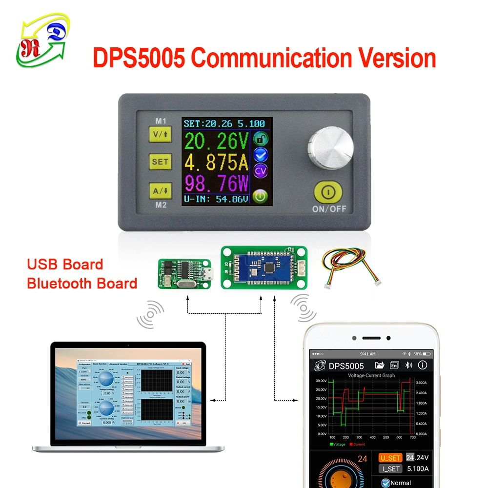 Cheap Voltmeter 50v Buy Quality Voltmeter Current Directly From China Voltmeter Module Suppliers Rd Dps5005 Comm Voltage Converter Communication Power Supply