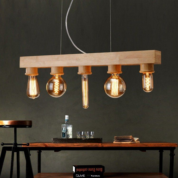 Suspension bois de design original en 27 id es ing nieuses for Suspension luminaire original