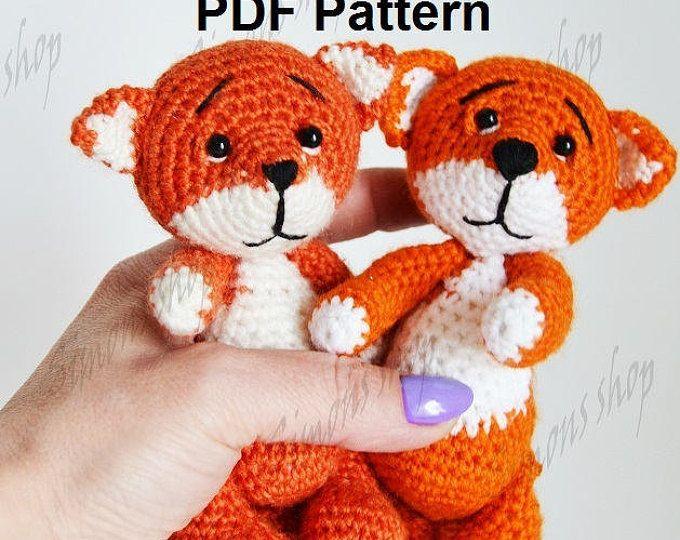 Fox Amigurumi Pattern Crochet fox pattern crochet animal pattern ...