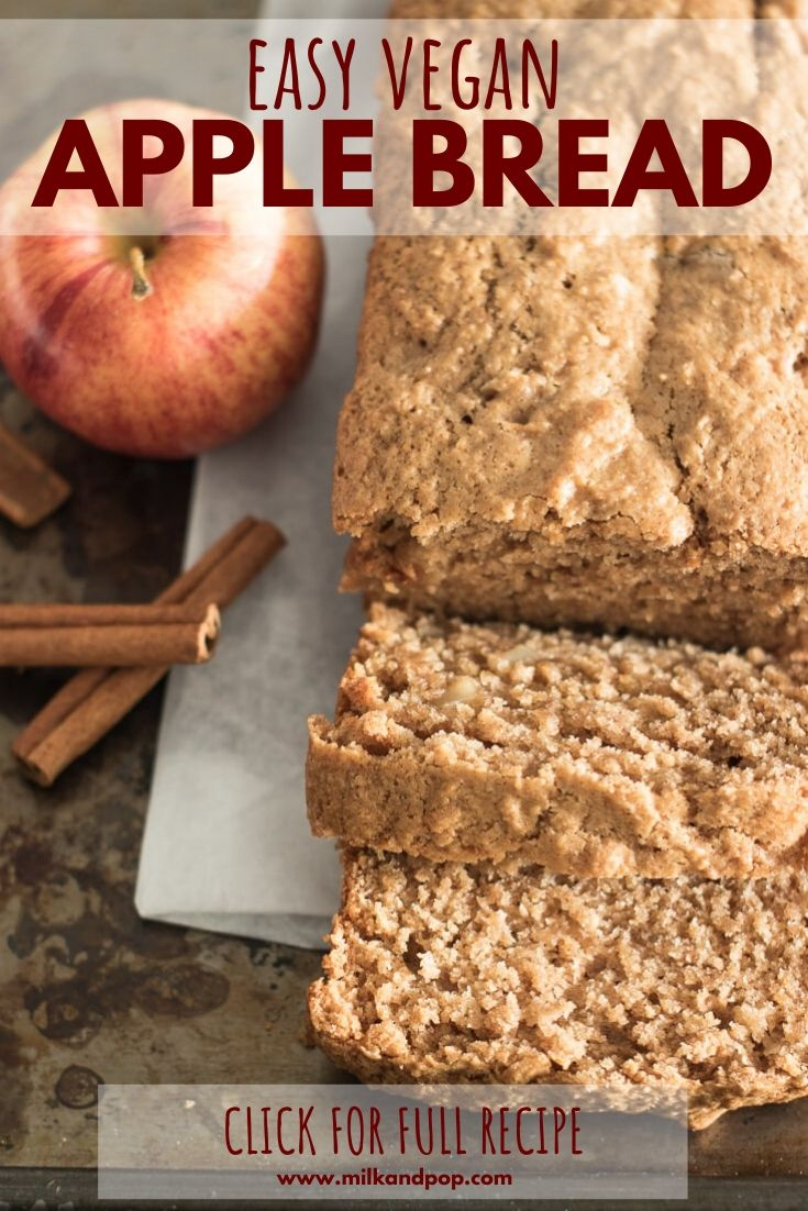 Apple Cinnamon Bread (easy and extra soft) – Milk