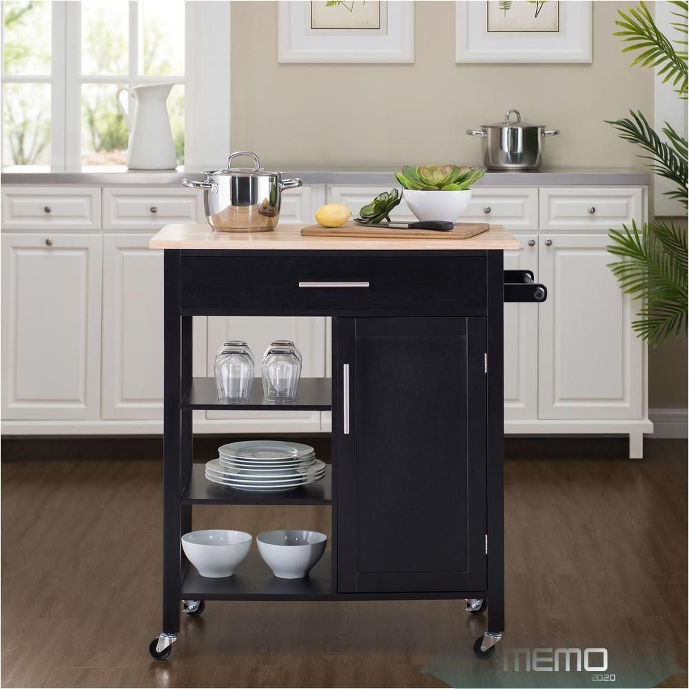 May 31 2020 Short On Kitchen Counter Space Or Cabinets Problem Solved With This Movable Kitchen In 2020 Kitchen Cart Kitchen Cabinets On Wheels Diy Furniture Easy