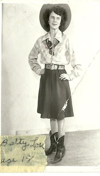 Aunt Betty lou at 18