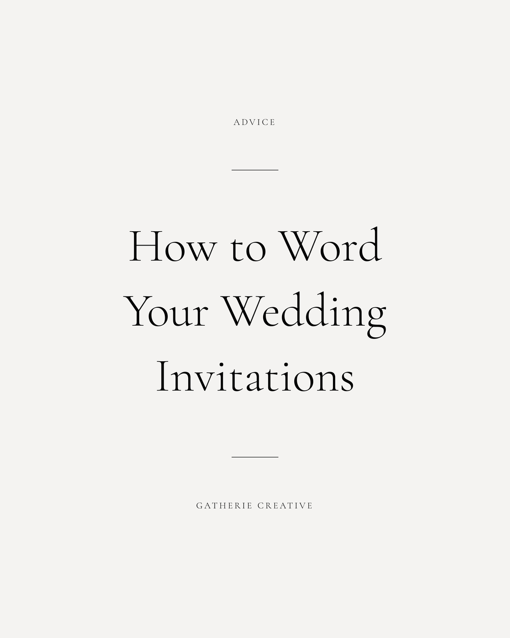 WEDDING INVITATION WORDING ETIQUETTE | Wedding invitation wording ...