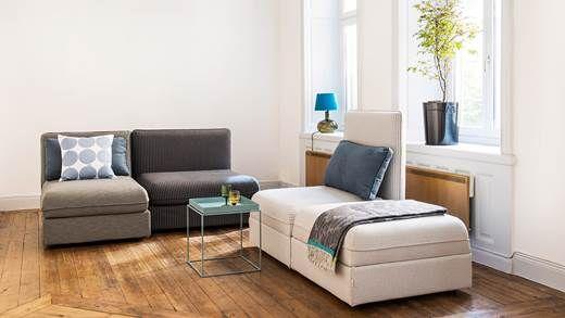 ikea vallentuna pinstripe vallentuna pinterest grey living rooms living rooms. Black Bedroom Furniture Sets. Home Design Ideas