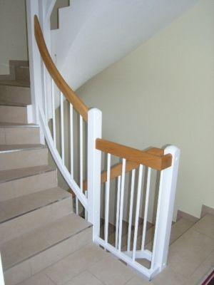 Treppengeländer Streichen Holz treppengeländer buche weiss lackiert treppengeländer holz