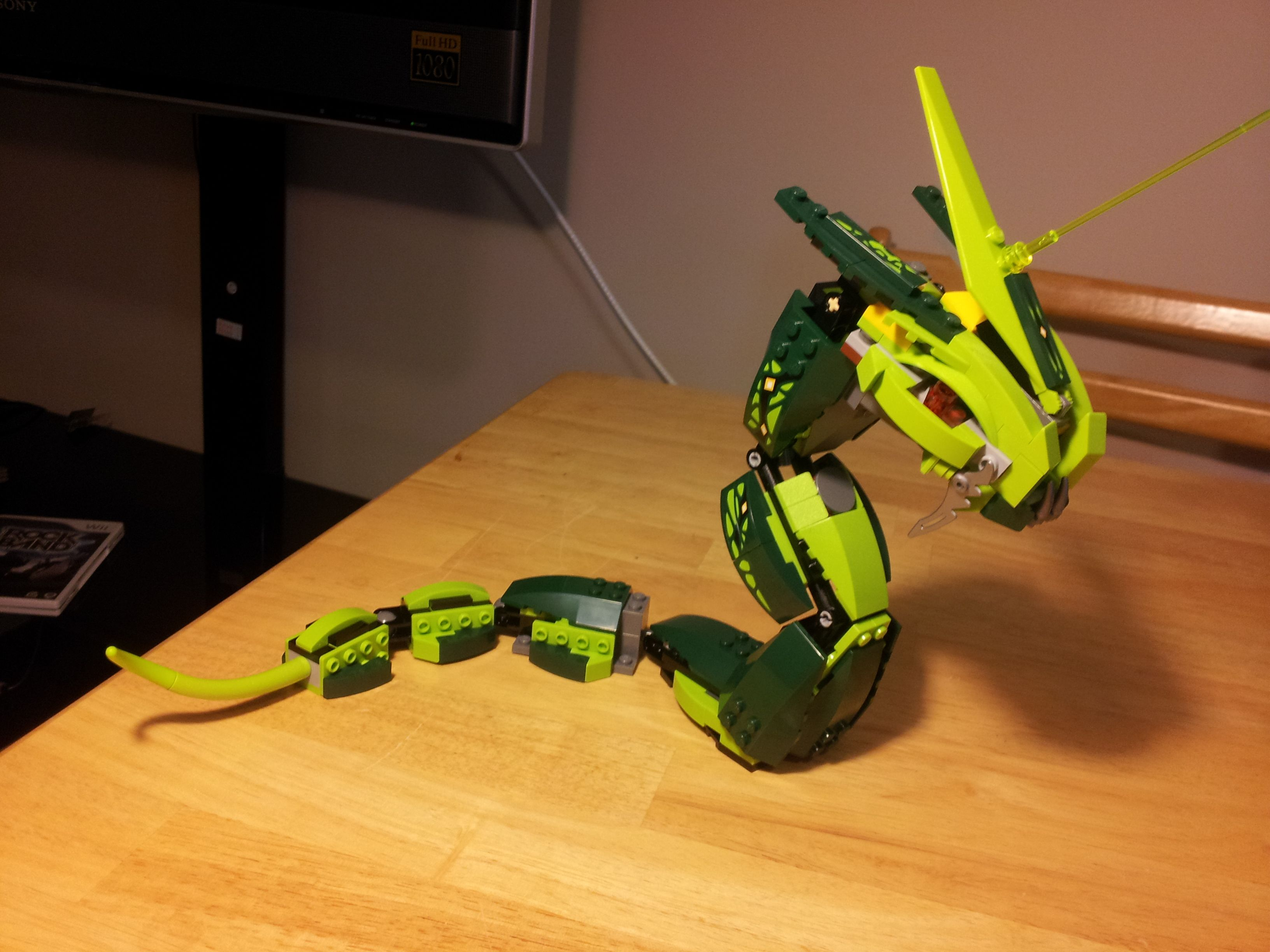 Dragon Sala Set Olx The Great Devourer Is A Large Ninjago Snake Released In