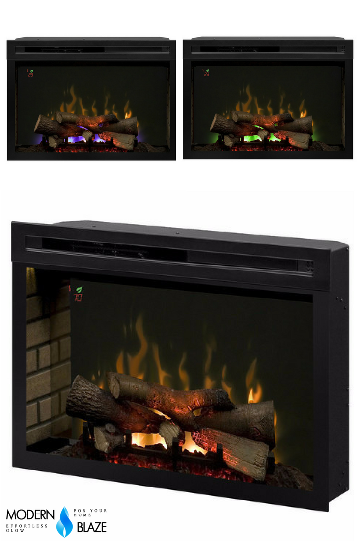 Dimplex 33 Multi Fire Xd Plug In Electric Firebox Ul Listed Pf3033hl Wood Burning Fires Heating Systems Gas Fireplace