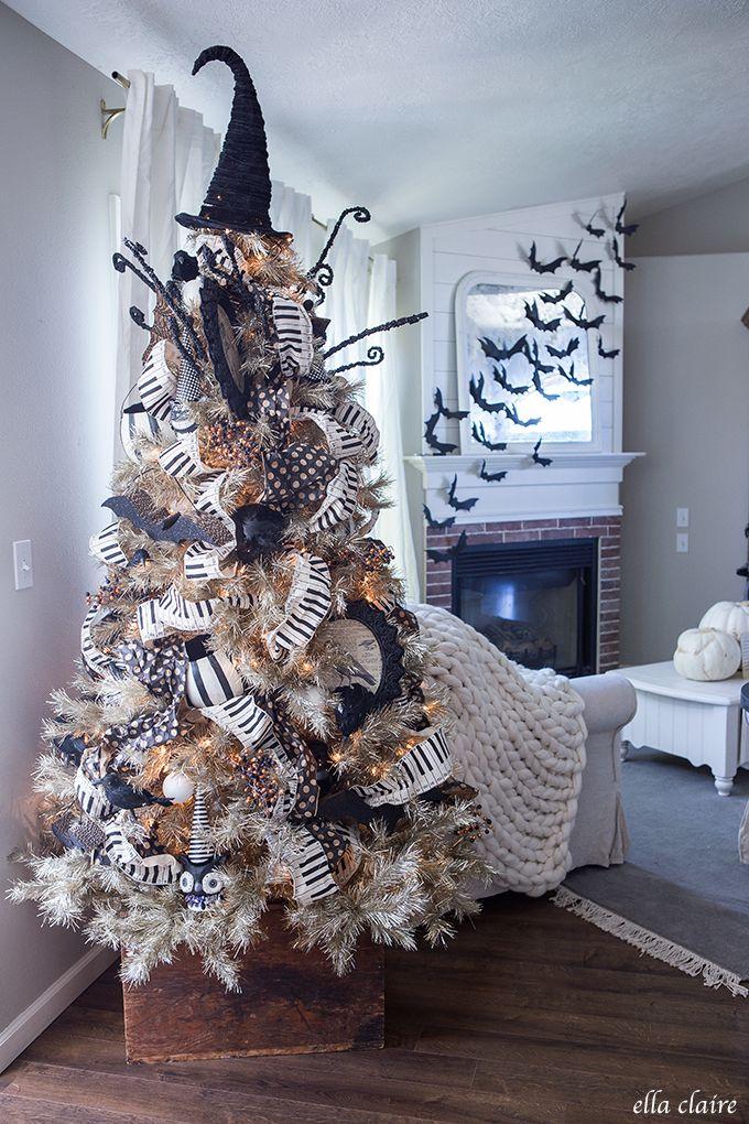 Halloween Decor Halloween tree decorations, Halloween