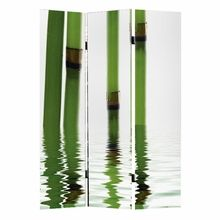 Bamboo Folding Screen IMAGES on a folding screen, you can introduce large graphics into your modern space