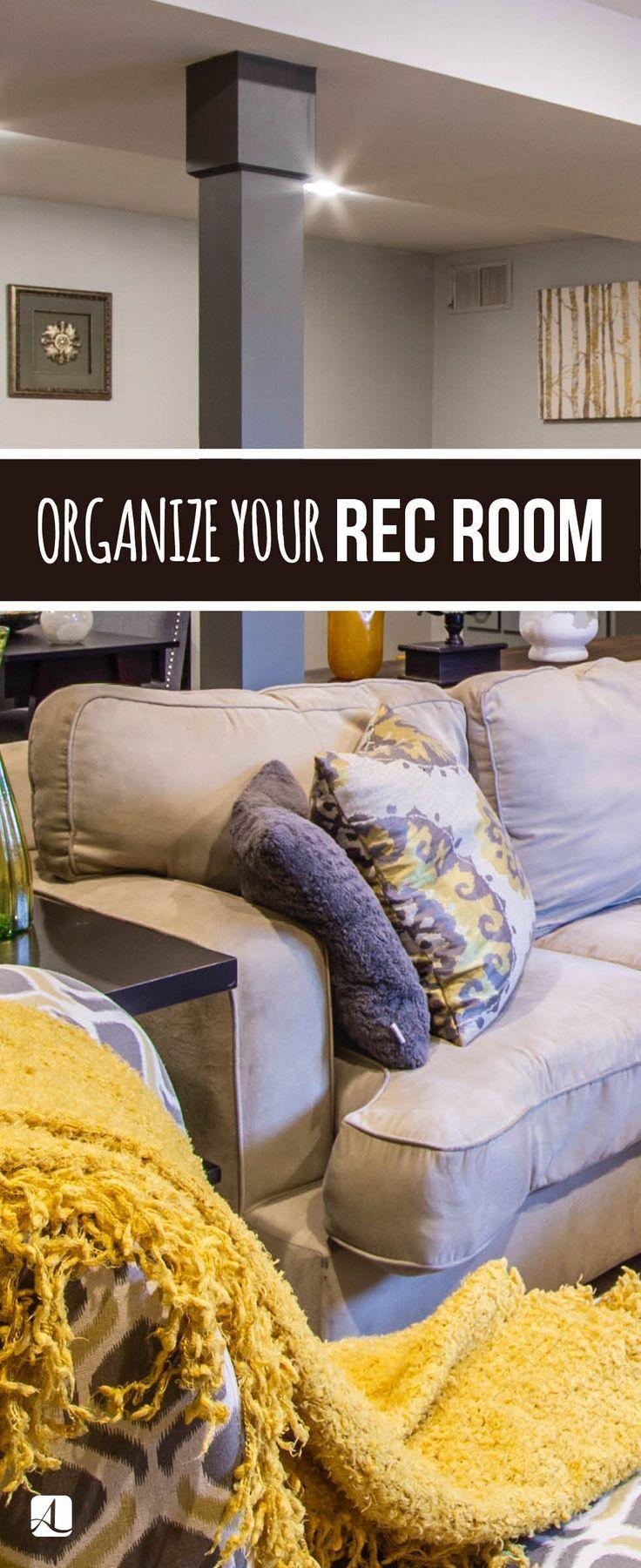Photo of So organisieren Sie einen Aufenthaltsraum: Egal, ob es sich um das Spielzimmer Ihrer Kinder oder um ein Spielzimmer handelt …, #Game #Kids …