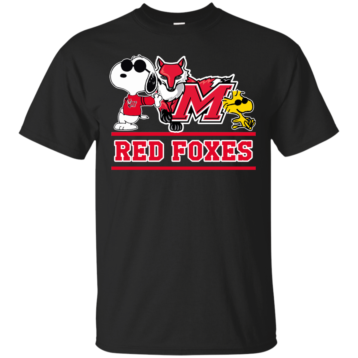 NCAA Marist Red Foxes T-Shirt V1