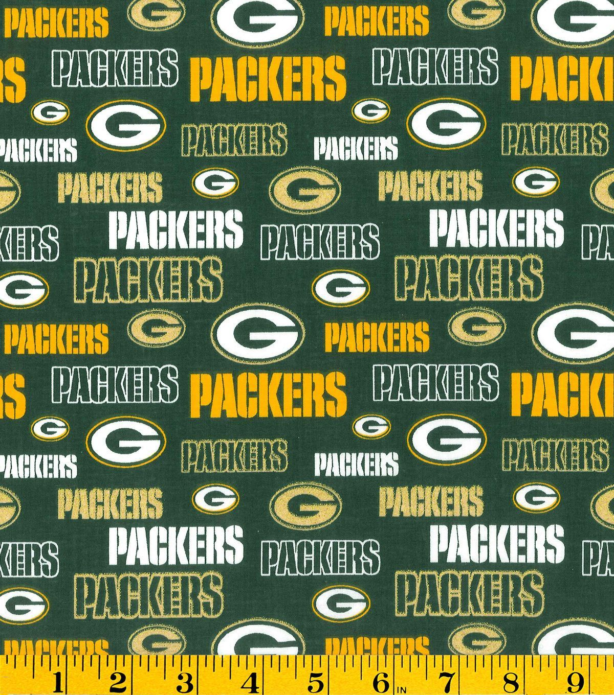 Green Bay Packers Nfl Glitter Cotton Fabric Jo Ann Green Bay Packers Wallpaper Green Bay Packers Green Bay