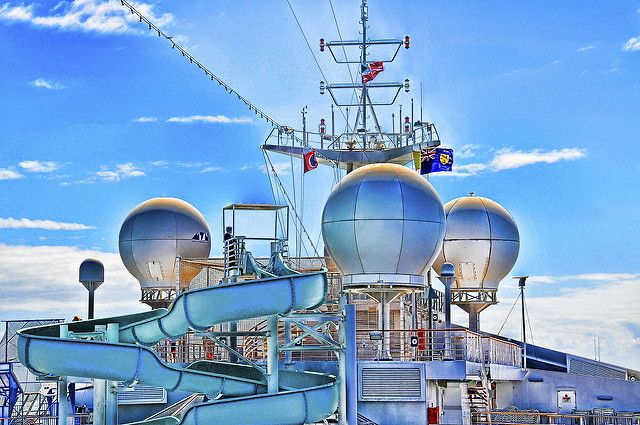 Carnival Sunshine water slide