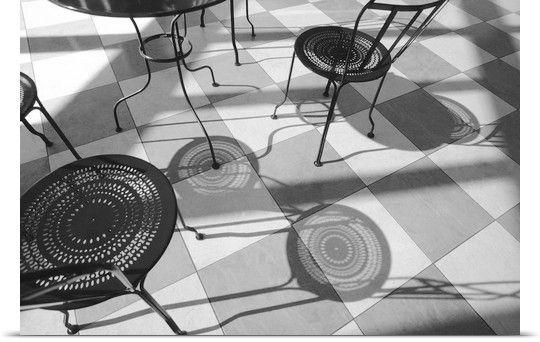 chairs shadows