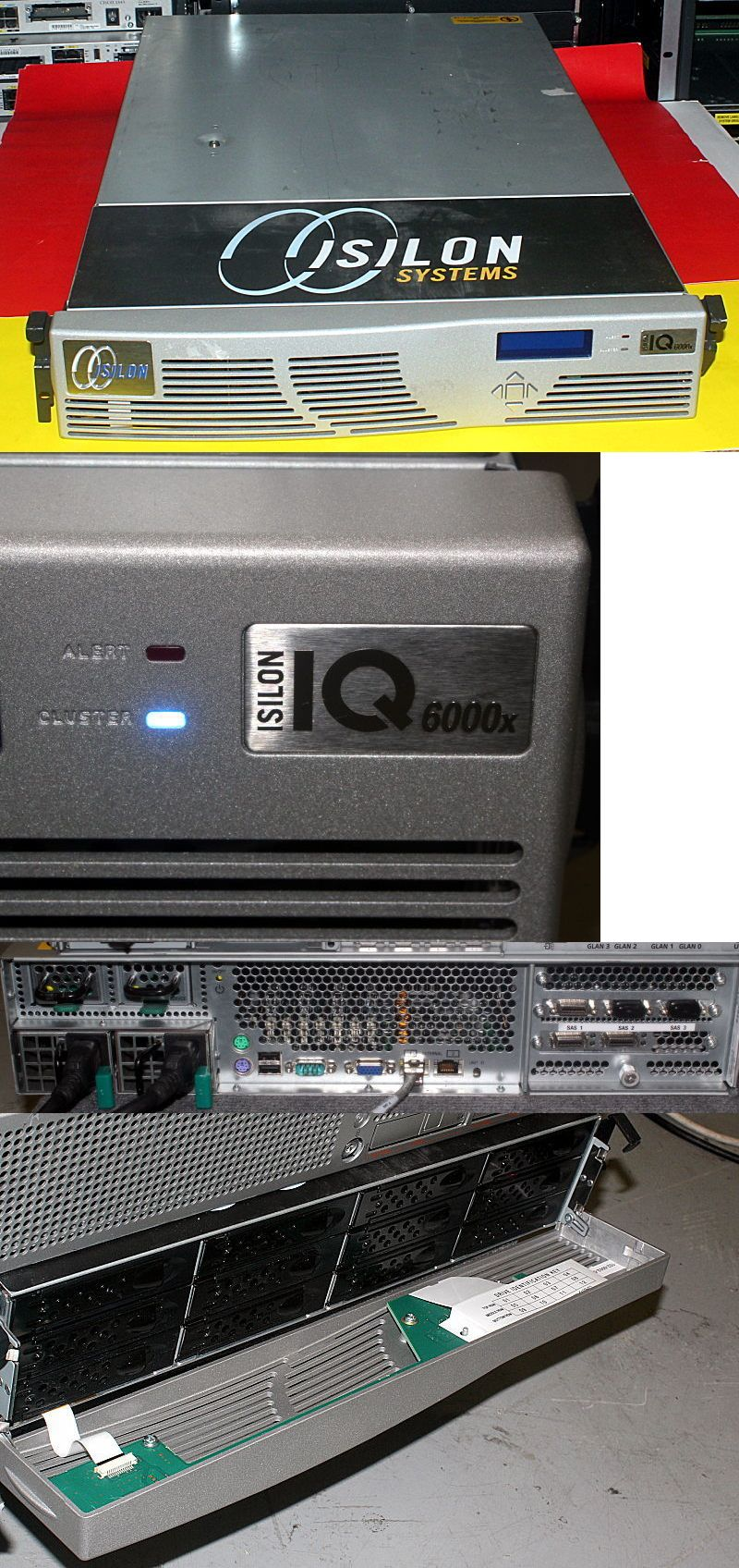 Nas Disk Arrays 64069 Emc Isilon Iq6000x Server 2 33ghz Quad Core 2gb Ram 6tb 12x 500gb Hdd Buy It Now Only 725 On Ebay Arrays Isilon Quad Hdd Server