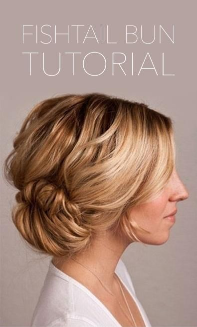 formal hair styles down wedding hairstyles how to do fishtail bun s 8495 | 5e2b85277fd88e5c8495ee144314a5b8