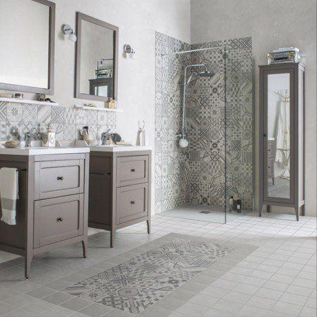 Carrelage mural et faïence - Carrelage sol et mur Leroy Merlin - percer carrelage salle de bain