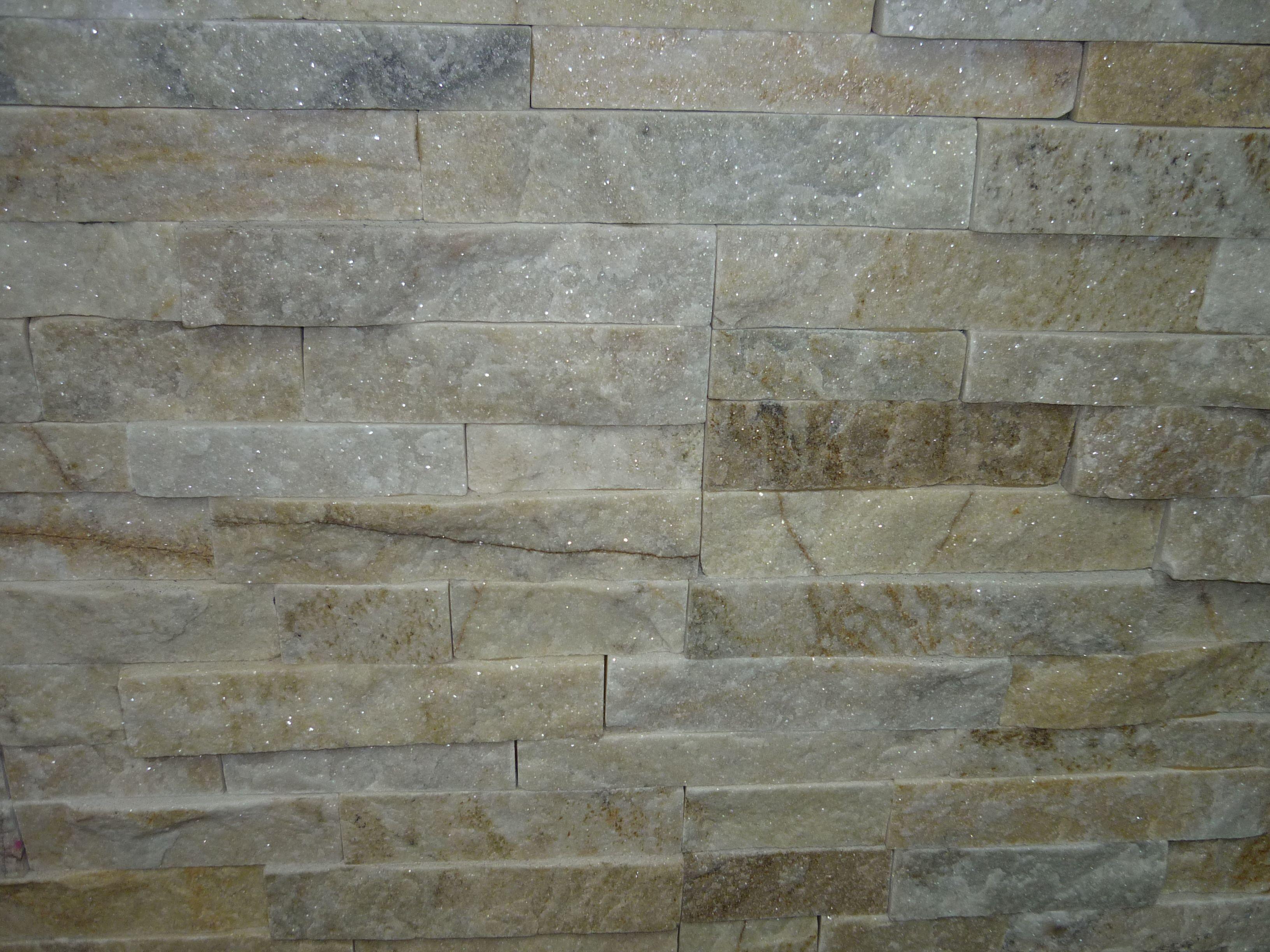 White quartz stacked stone google search house ideas pinterest