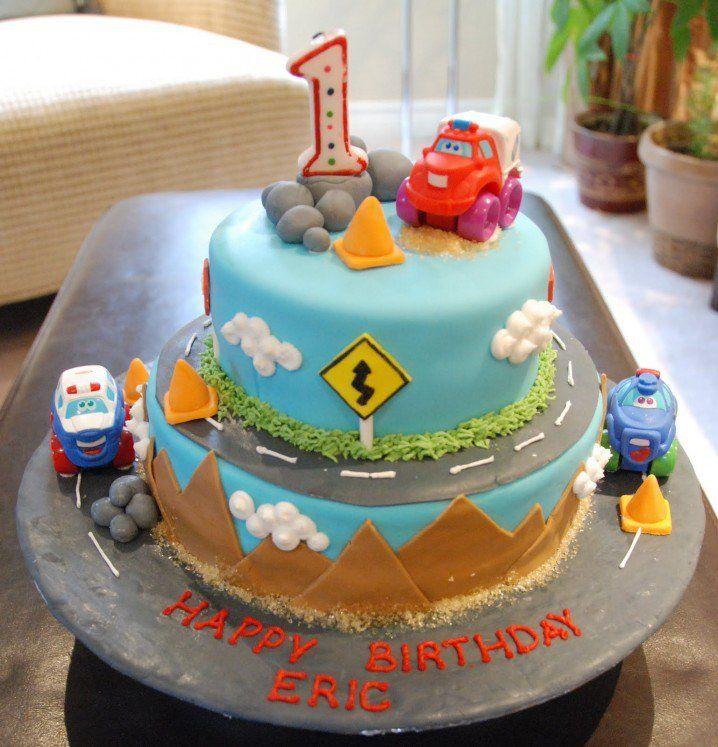 Baby Boy First Birthday Cake Idea First Birthday Cake Ideas For