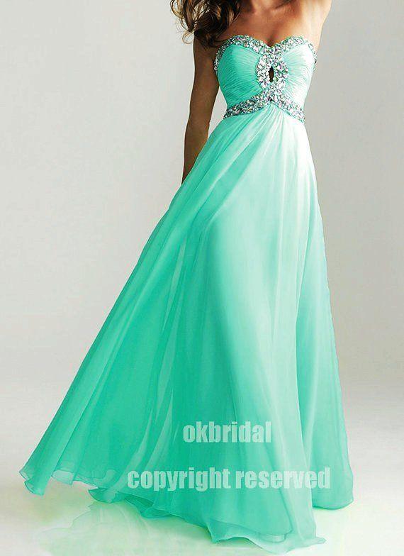 mint green dress mint green prom dres | Dresses | Pinterest ...