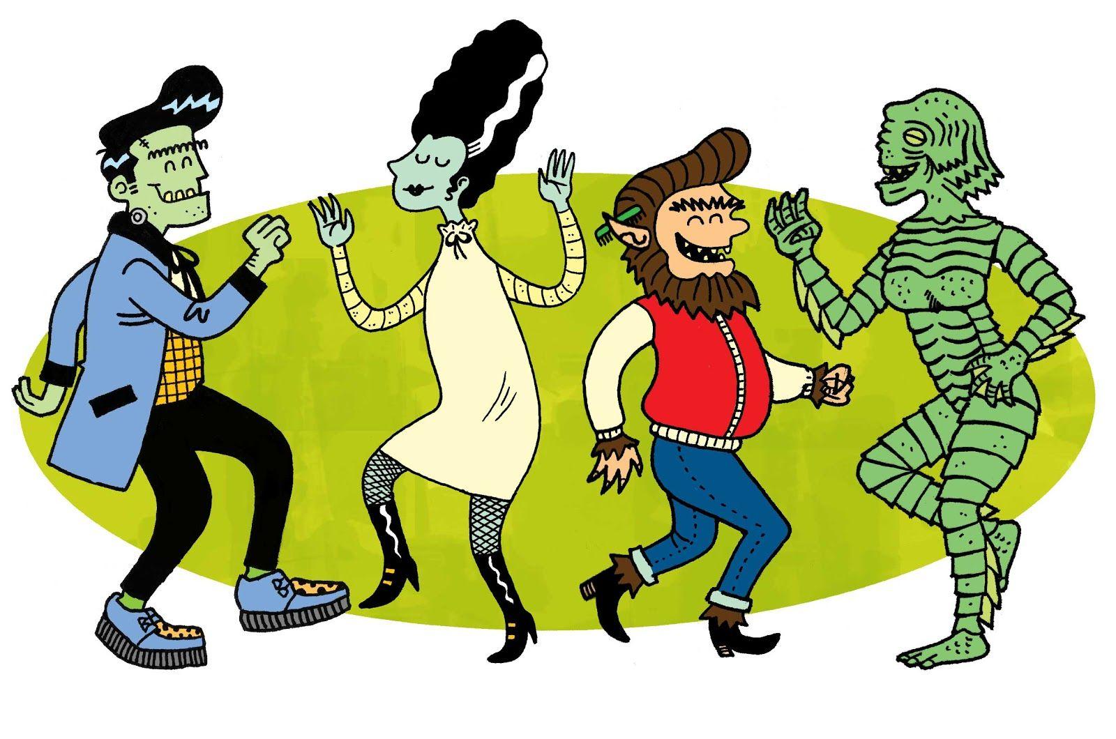 Pin By California Girl2 On Scary Oooooooo Universal Monstrosities Halloween Dance Halloween Dance Party Halloween Songs