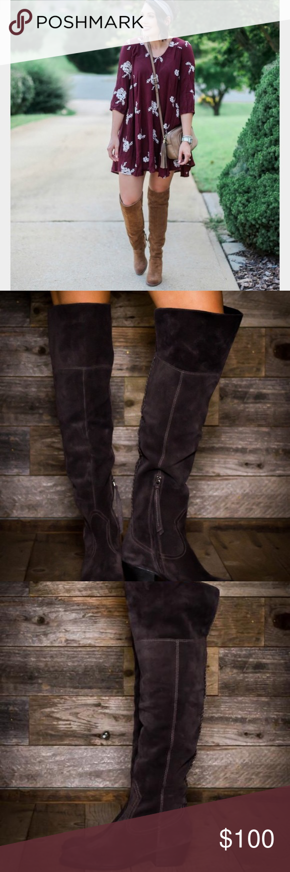 babd151b887 Dolce Vita Silas Over the Knee Boots