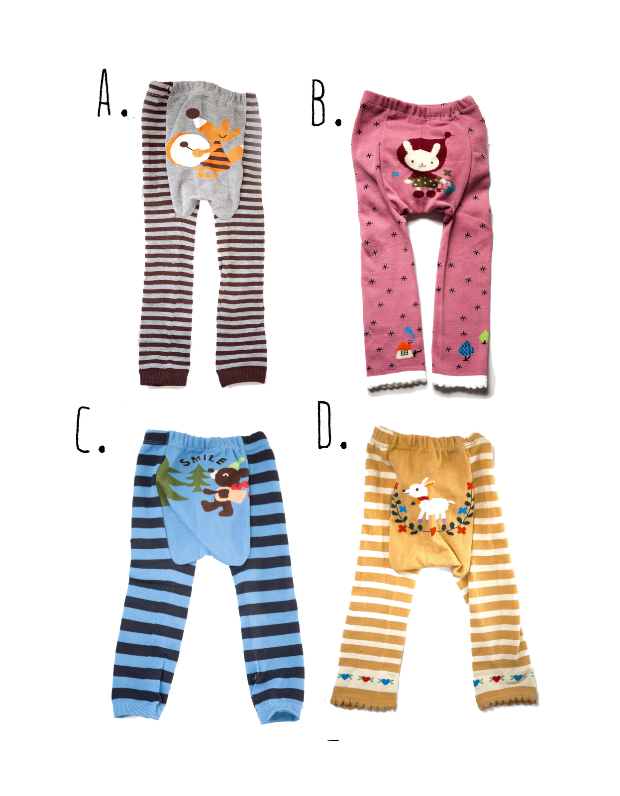 japanese baby leggings