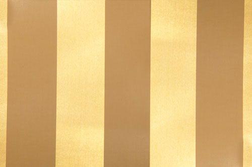 Tapete Metallic Metallfolie Auf Papier Streifen Gold Braun Online Kaufen